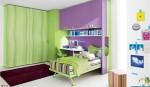 cameretta verde e viola klou xl