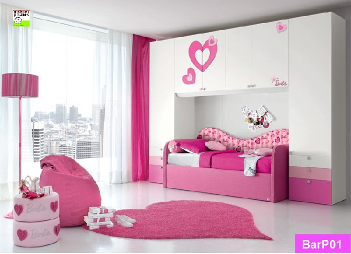 Ponte Barbie con divano Trendy