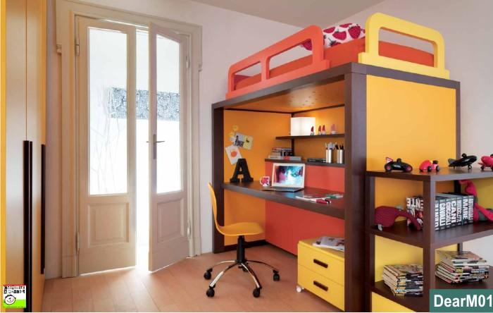 Castello Boxer letto-scrivania