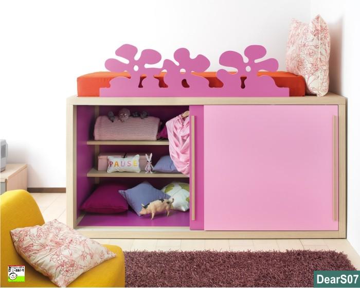 Cassetti Scorrevoli Sotto Letto : Il letto che contiene cassetti o contenitore