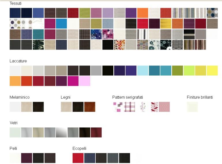 colori per i mobili letto Clei