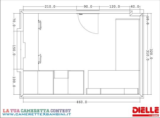 Camerette dielle progetto su misura for Progettare la cameretta