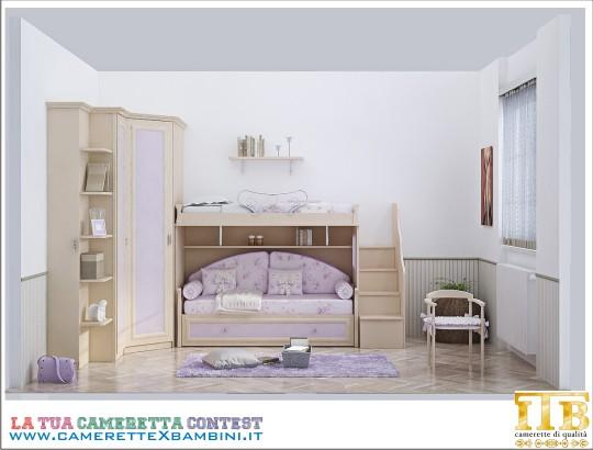 Camerette Classiche A Soppalco.Itb Camerette Classiche