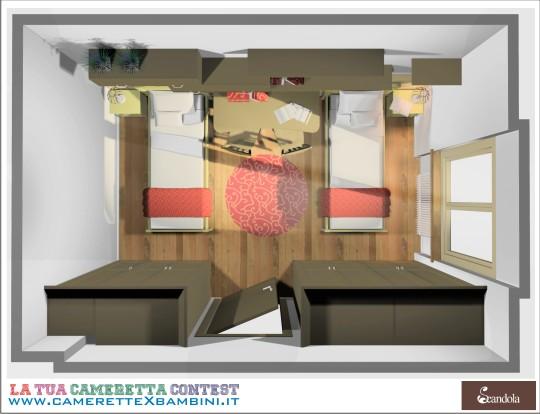 Camerette classiche scandola mobili for Scandola mobili