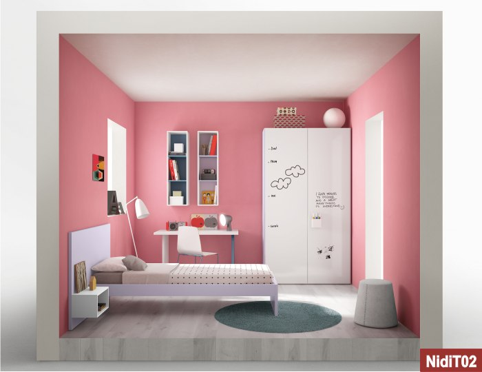 camera per bimbe nidi