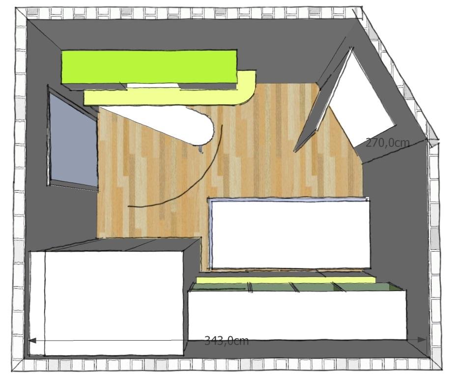 Arredare una cameretta doppia progetti 3d realizzati for Progettare la cameretta