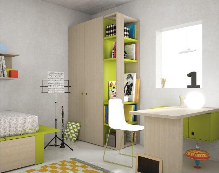 zona studio e armadio