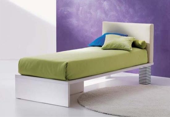 letto x bed di dielle con cassetto
