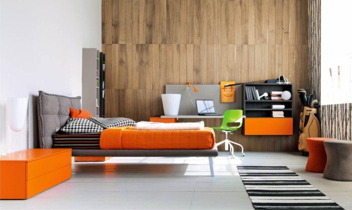 arredo moderno arancione