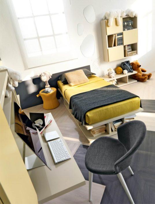letto e scrivania