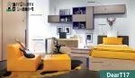 Camera per ragazzi moderna e di design