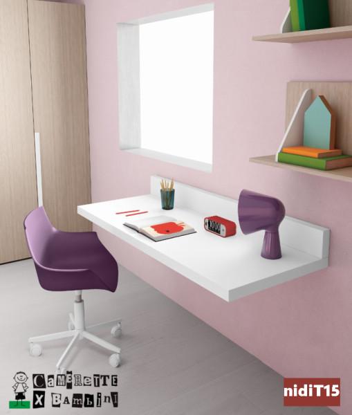 scrivania sospesa Battistella Nidi