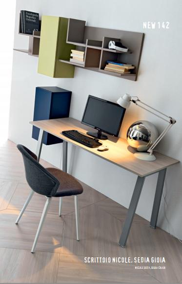 Zona studio scrivania mensole e pensili doimo cityline