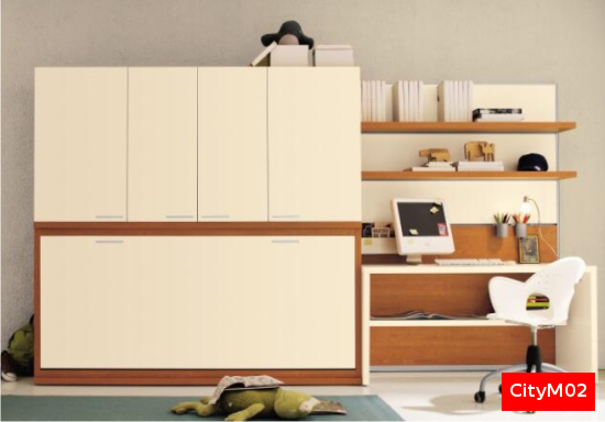 Armadio Con Letto A Scomparsa Ikea. Stunning Letto With ...