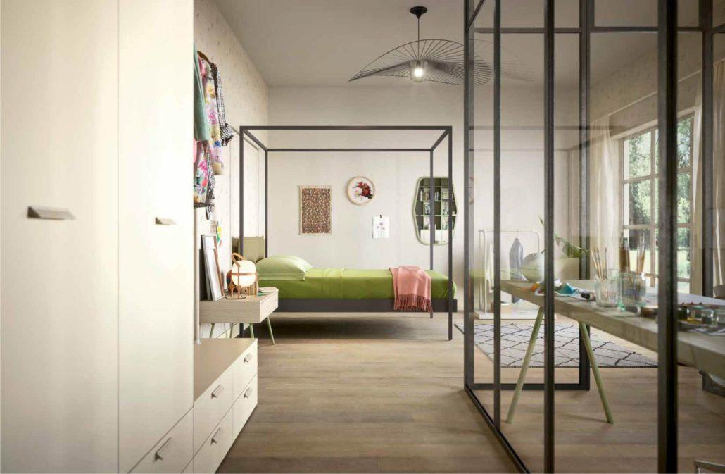 Camere Con Letto A Baldacchino : Riscoprire il letto a baldacchino per la cameretta romatnica