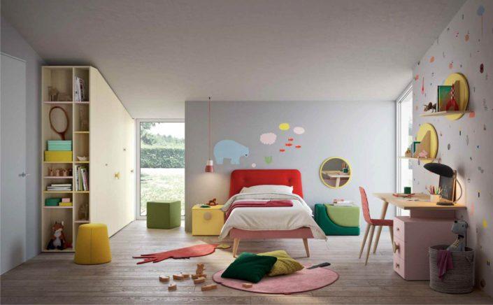 Camerette rosse come colorare lo spazio dei ragazzi for Magri arreda bari