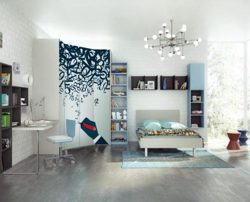 Camera con letto ampio e cabina