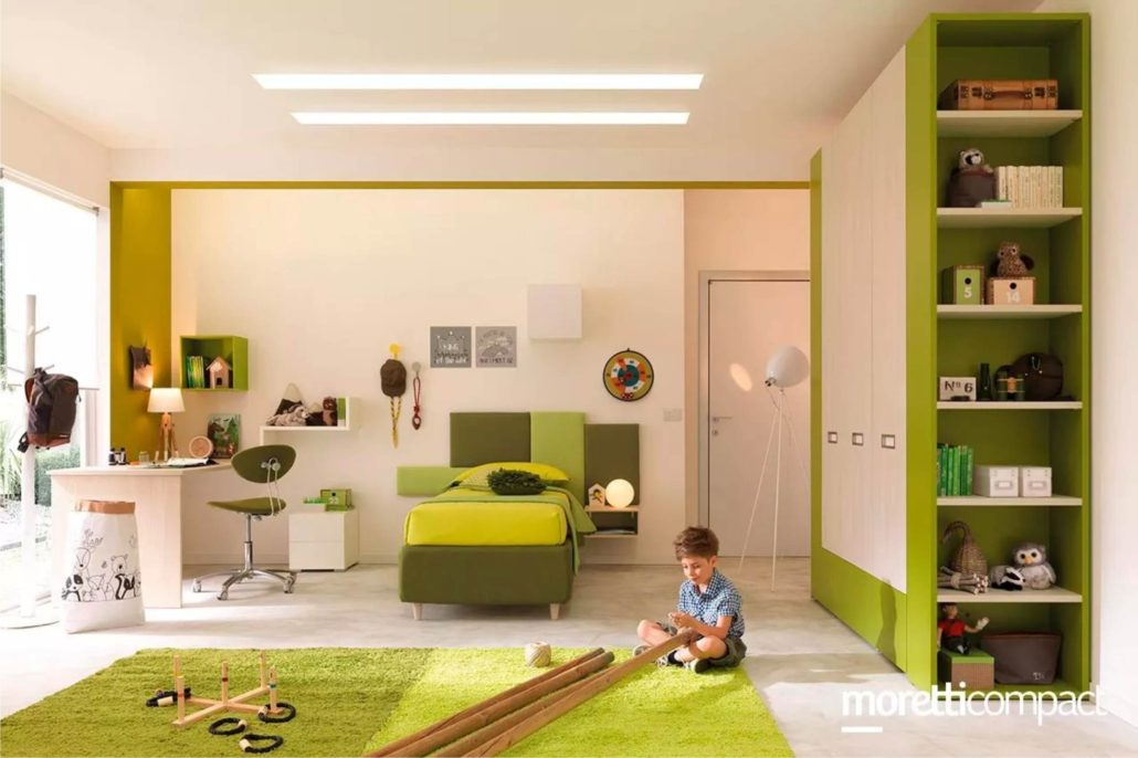 camera verde moretti