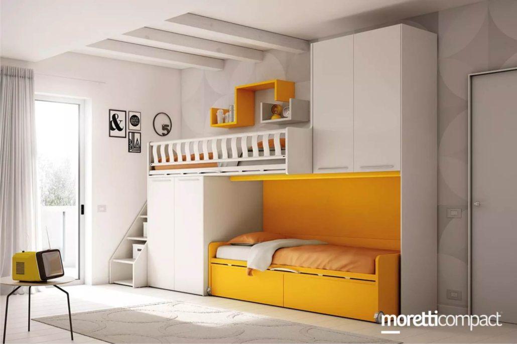 Letti a castello moretti compact - Camerette moretti opinioni ...