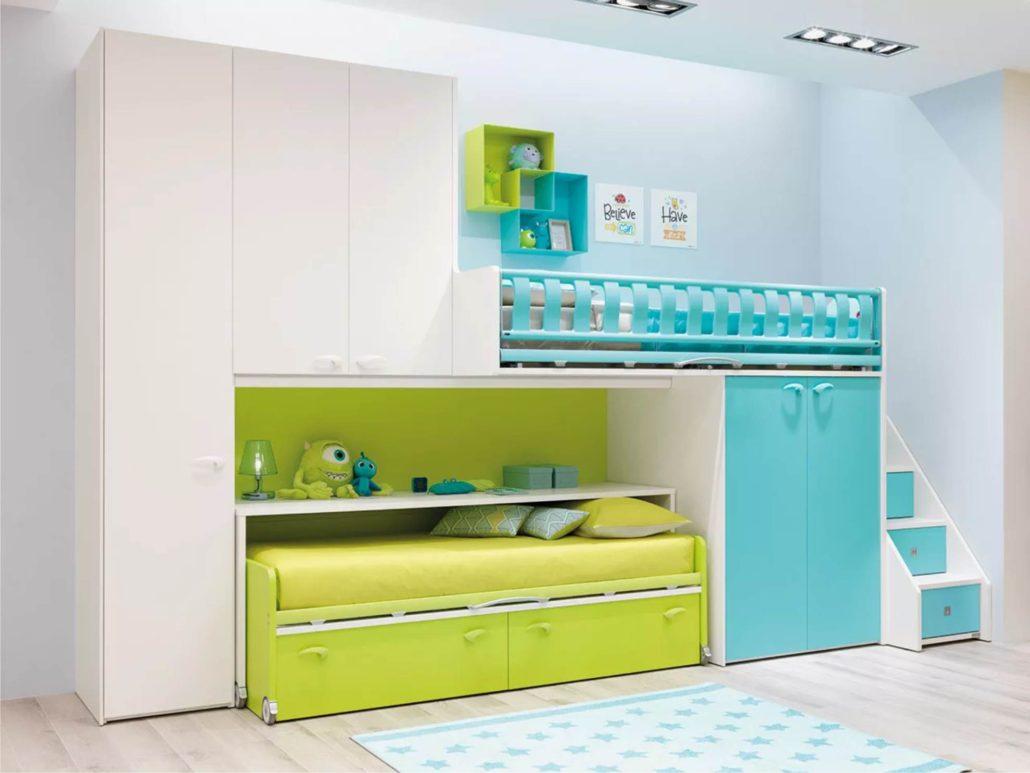 Camere Per Ragazzi Moretti : Moretti camere per bambini