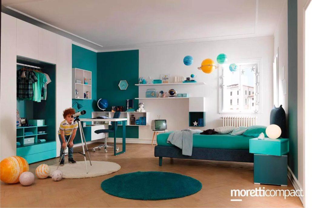 Camere Da Letto Per Bambini Colori : Camerette moretti compact