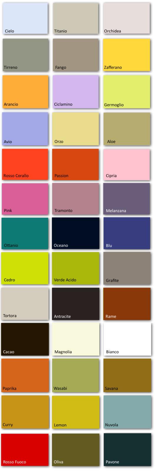 colori laccati doimo cityline