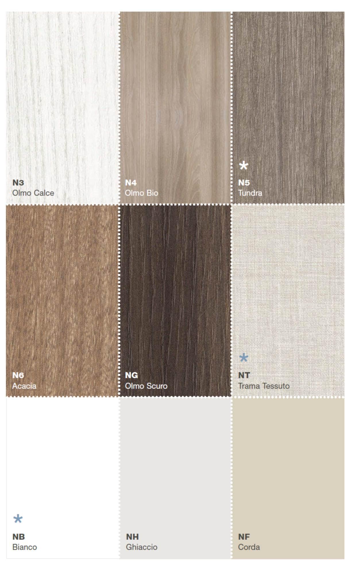 colori nobilitati e legni