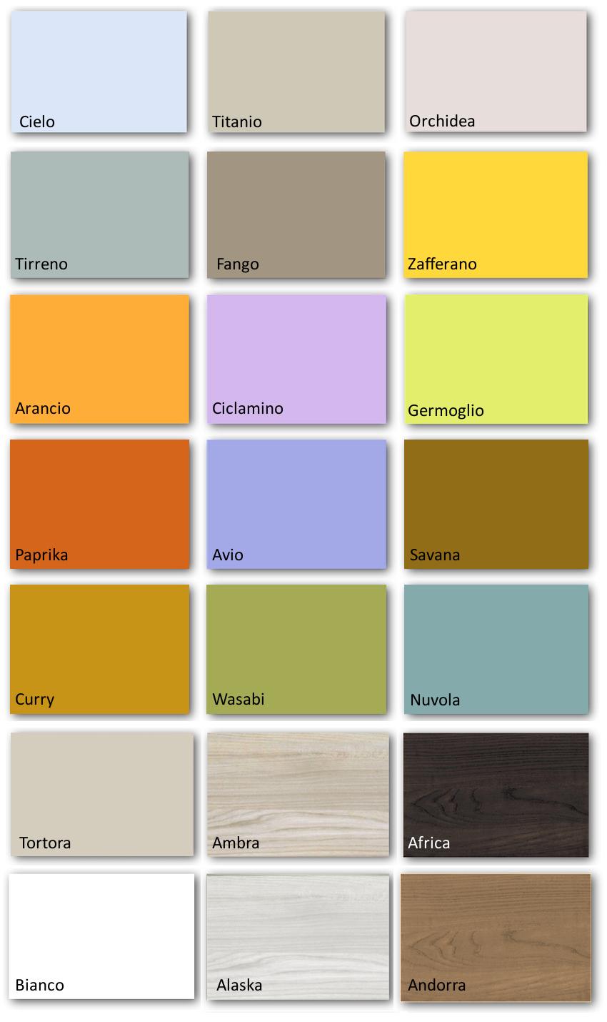 Camerette Doimo Cityline Tutti I Colori Disponibili