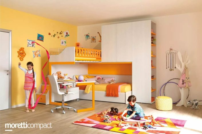 colori luminosi per bambini