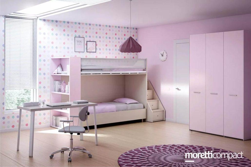 Letti a castello Moretti Compact | Camerette per Bambini