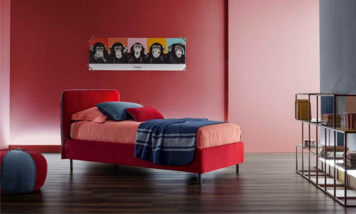 letto frick rosso