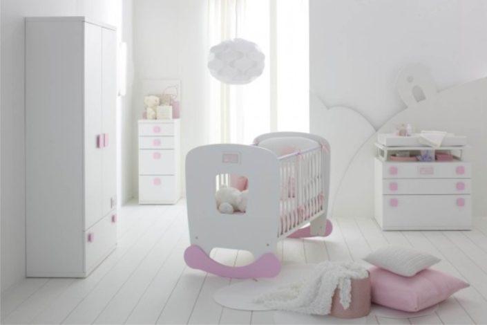 lettino da neonati con dondolo