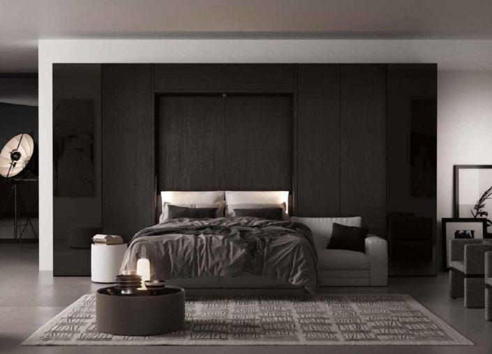 Il divano rimane sotto il letto matrimoniale