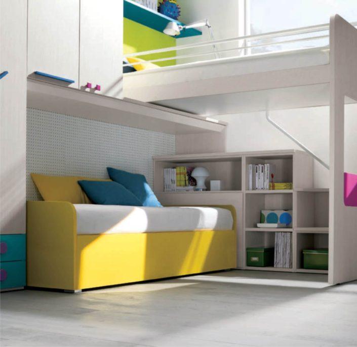 letto in legno dielle