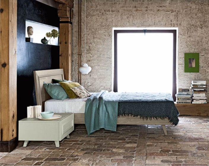 letto in vero legno